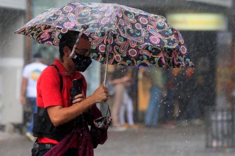 Yellow alert for rains in the Caribbean, Northern Zone, Central and South Pacific