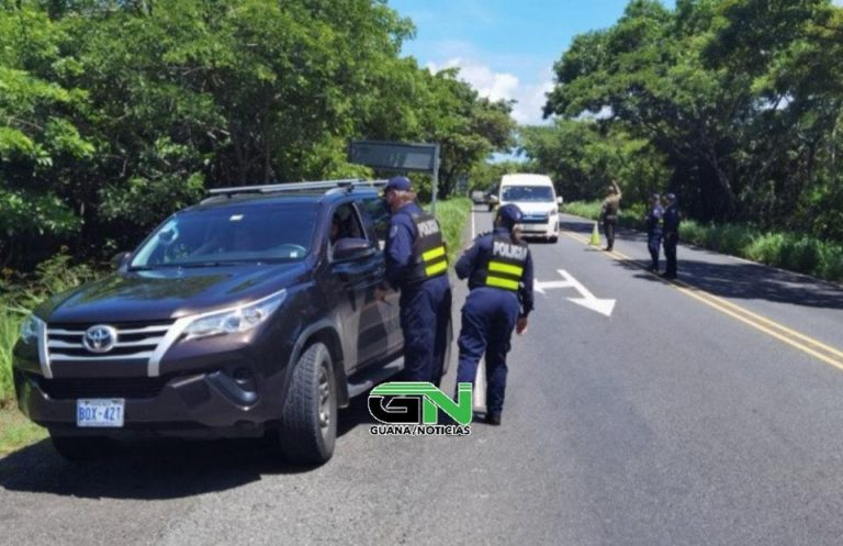 Preventive operations to protect tourists visiting the Guanacaste Conservation Area