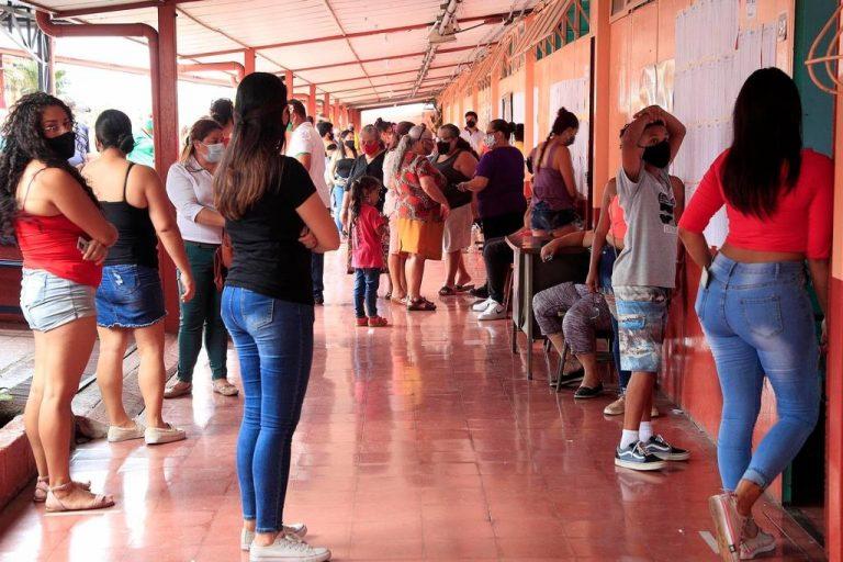Police intervenes in the Rincón Grande de Pavas school due to overcrowding