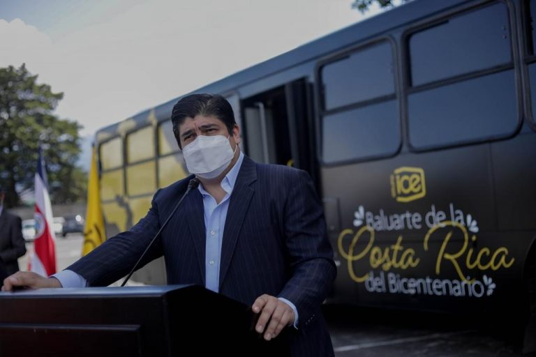 Carlos Alvarado describes calls reprehensible the persecution of Ortega against opponents in Nicaragua