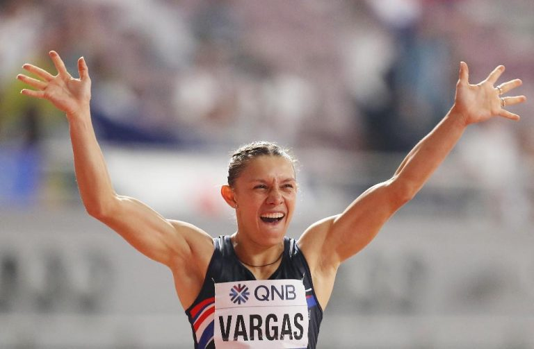 """World Athletics ranked Andrea Vargas among """"the 10 athletes who can surprise in Tokyo"""""""