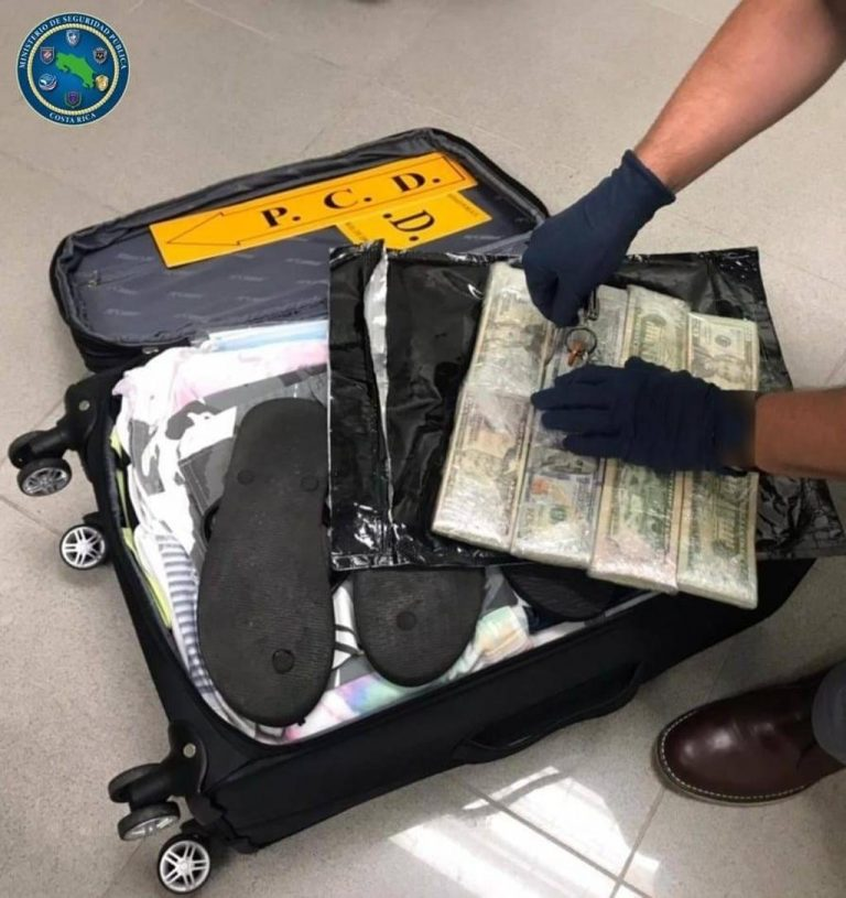 Tico tried to enter via San Jose airport with ¢93 million in cash