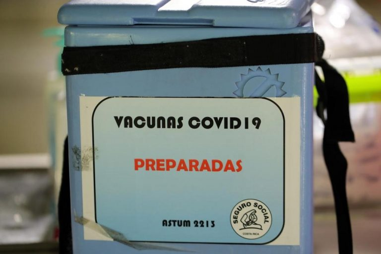 811,000 people in Costa Rica have had both shots of the covid-19 vaccine