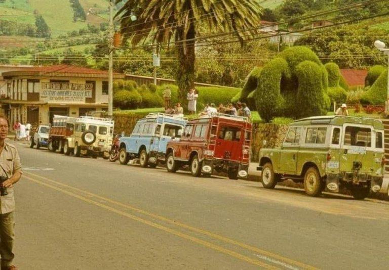 Back in the 80's Costa Rica