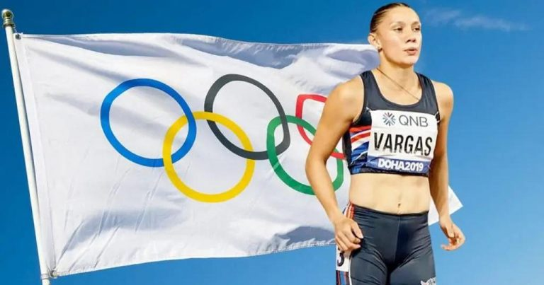 #OrgulloTico: Andrea Vargas wins her heat and qualifies for the semifinals in 100 meters hurdles in Tokyo
