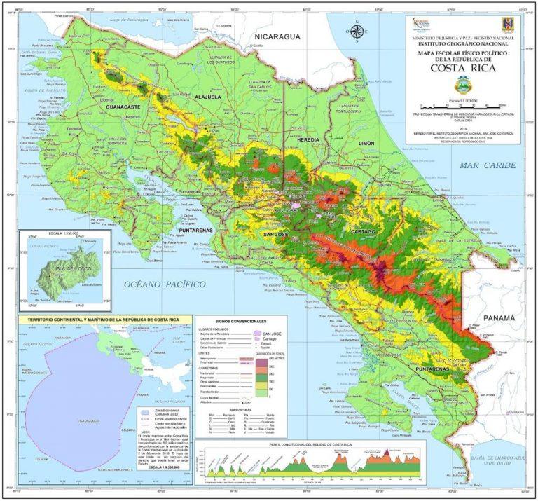 Costa Rica grew by 80 square kilometers in territory