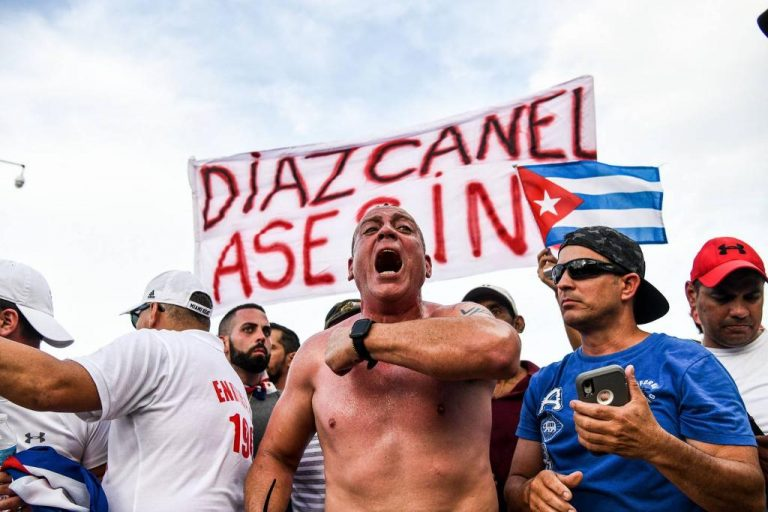 Cuban government blames Twitter for historic protests