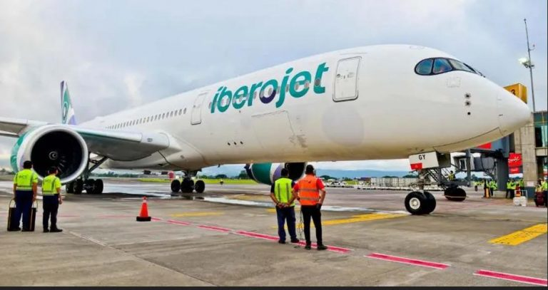 Iberojet opens operations in the country with a Madrid-San José flight
