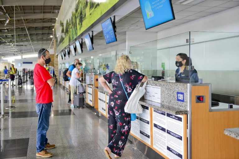 Liberia airport reached tourist arrivals in June close to the pre-pandemic
