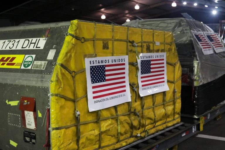 Half million doses of Pfizer donated by the United States arrived in Costa Rica