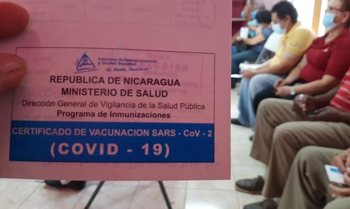 The disturbing wait for the second anticovid dose in Nicaragua