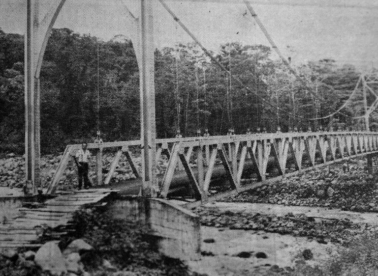 Today 50 years ago: They built a splendid bridge that led nowhere