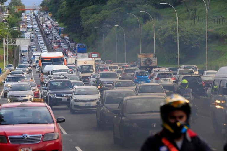 Costa Rica's transportation is the most polluting in Central America