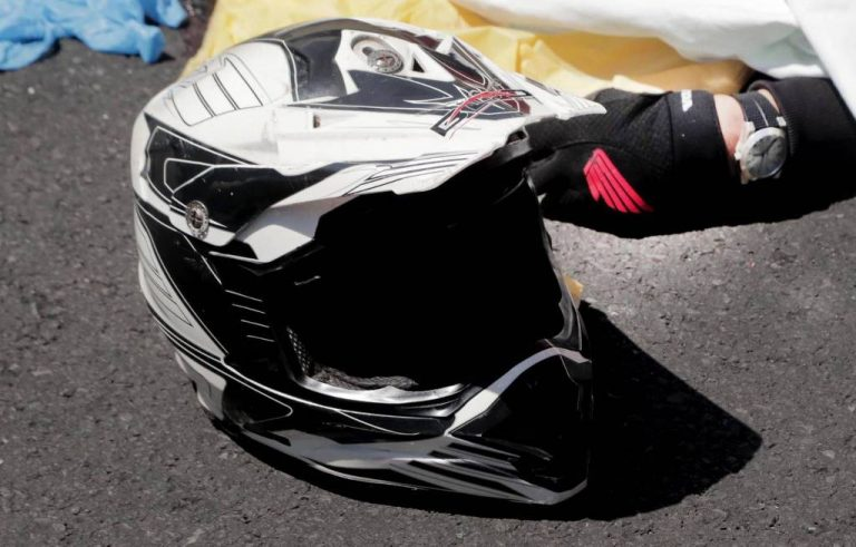 Half the deaths on the road are of motorcyclists