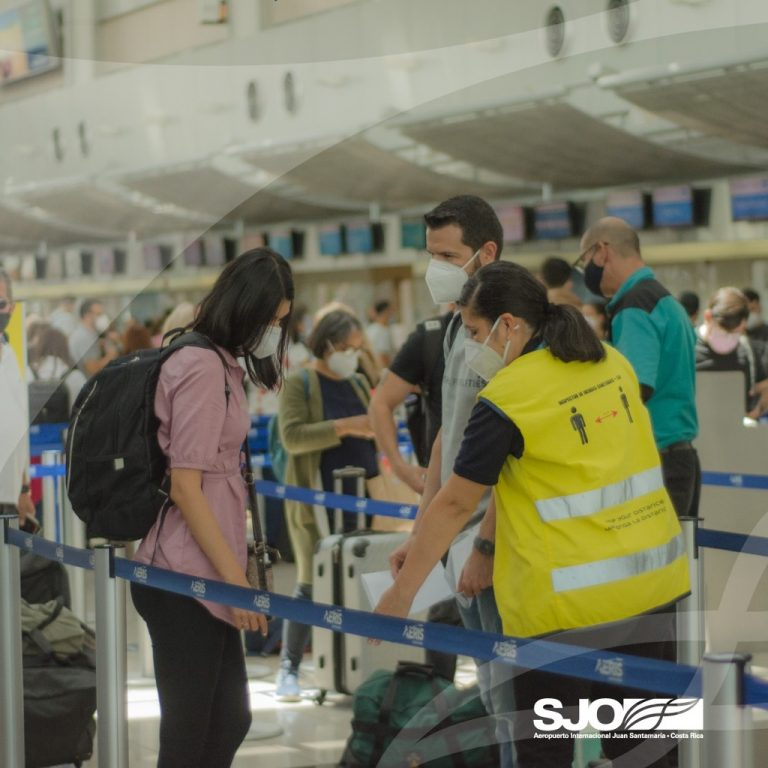 San Jose Airport achieved 66% of the prepandemic passengers in July