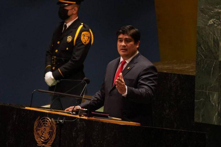 Carlos Alvarado denounces violations of the Daniel Ortega regime to the UN