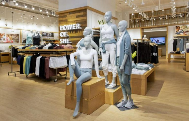 Athleta women's brand opened its first store outside North America in Costa Rica
