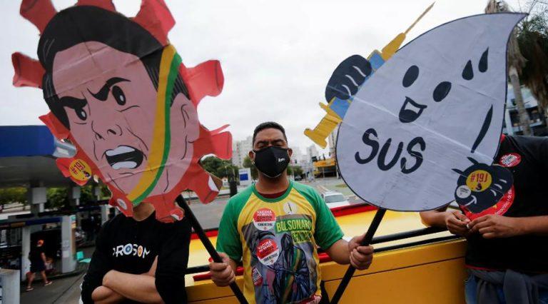 Protesters Across Brazil Demand Bolsonaro's Impeachment