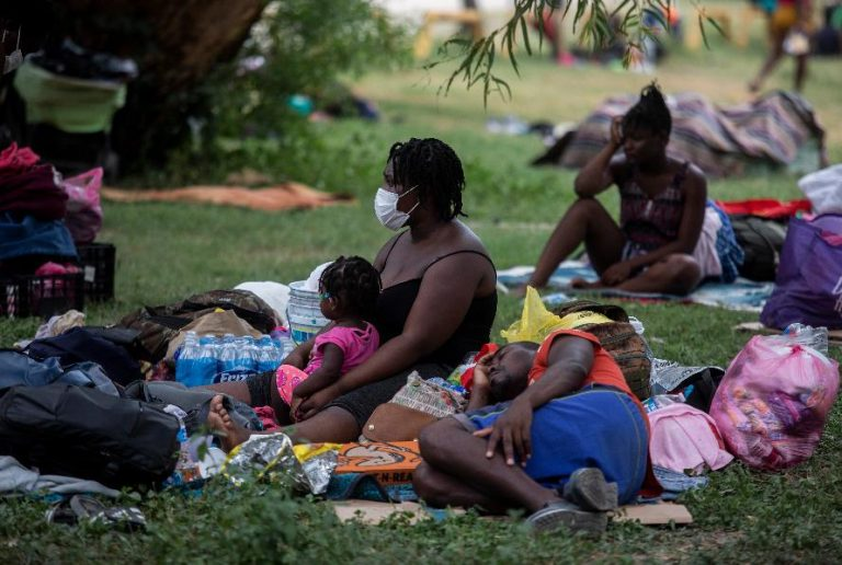Conditions worsen for Haitian migrants on US-Mexico border