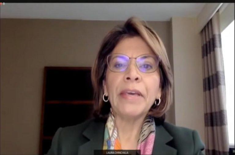 Laura Chinchilla calls to avoid a dynastic dictatorship in Nicaragua