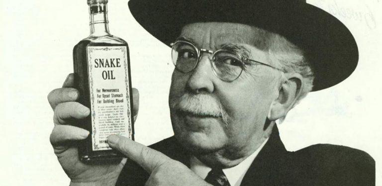 How snake oil got a bad name
