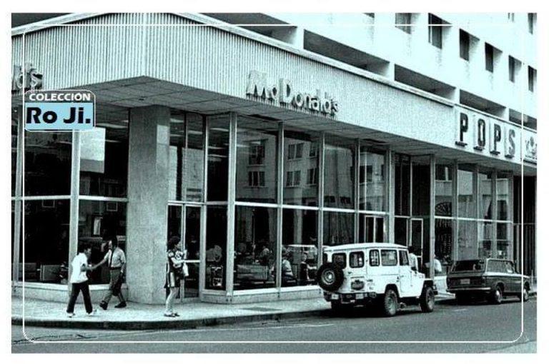 McD's in Tiquicia (Costa Rica) in 1970