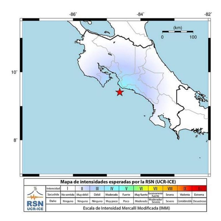 A moving 24 hours: 4.9 and 5.2 quakes hit Golfito and Jaco